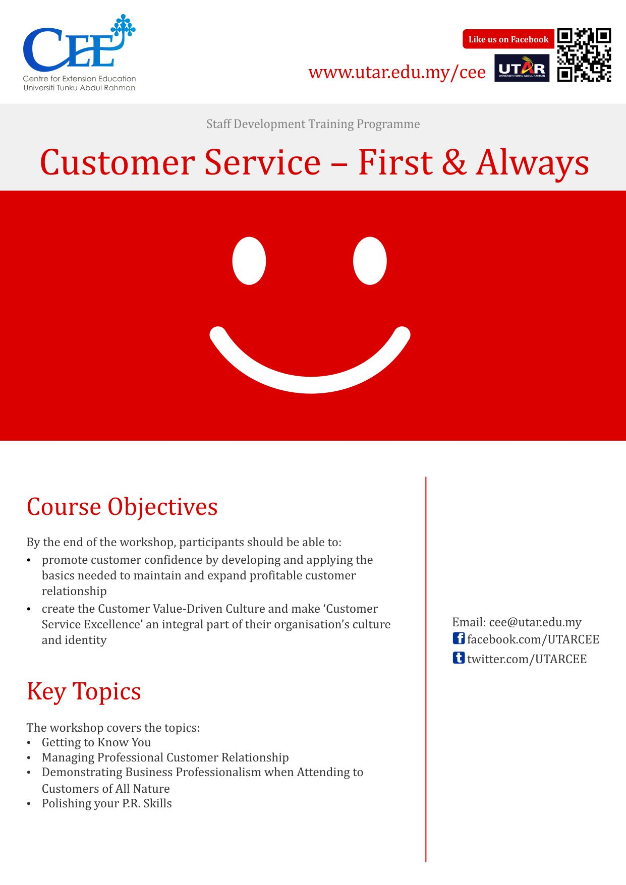 Centre for extension education customer service first always fandeluxe Image collections
