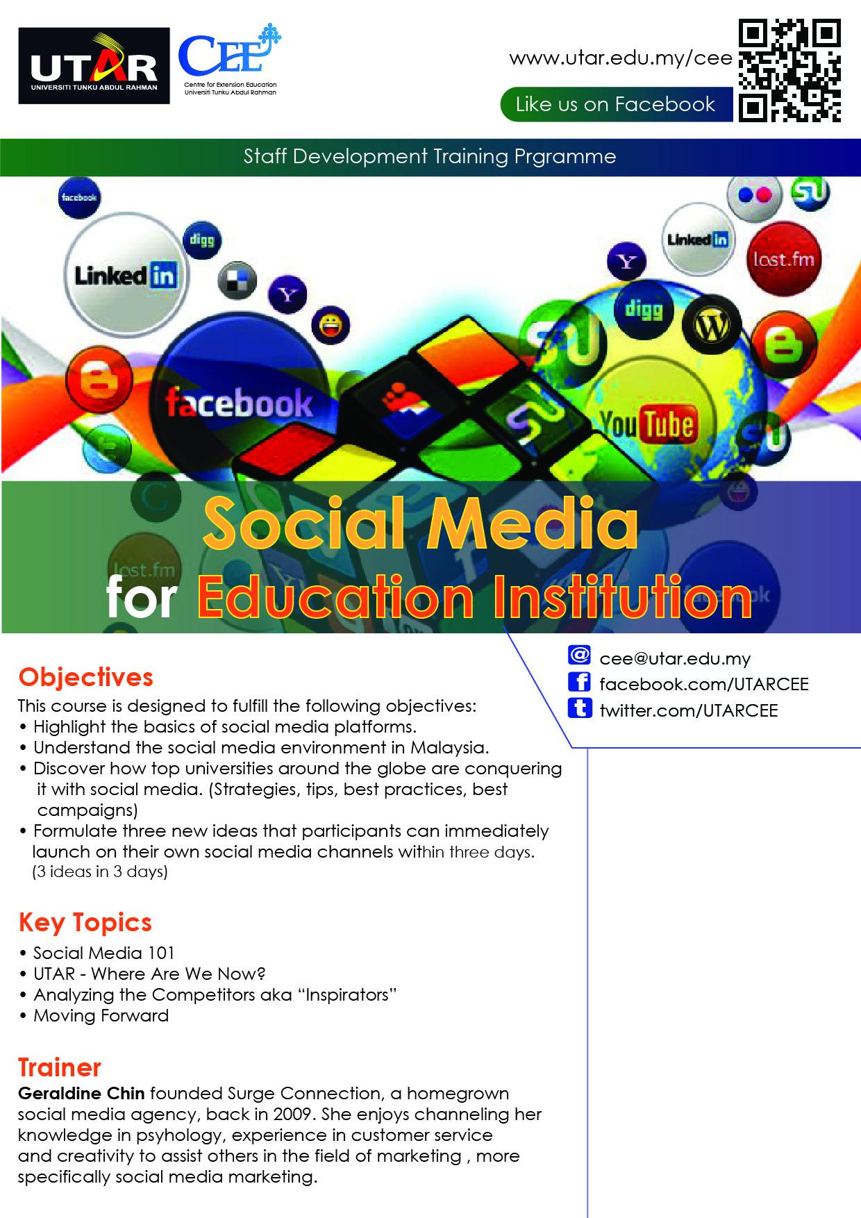 Utar Calendar Planner : Centre for extension education