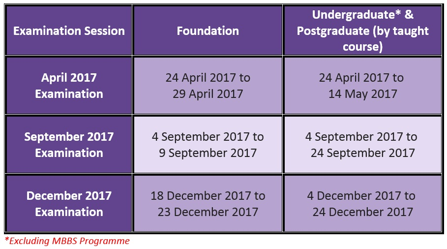 Utar Calendar Planner : Centre for foundation studies petaling jaya campus