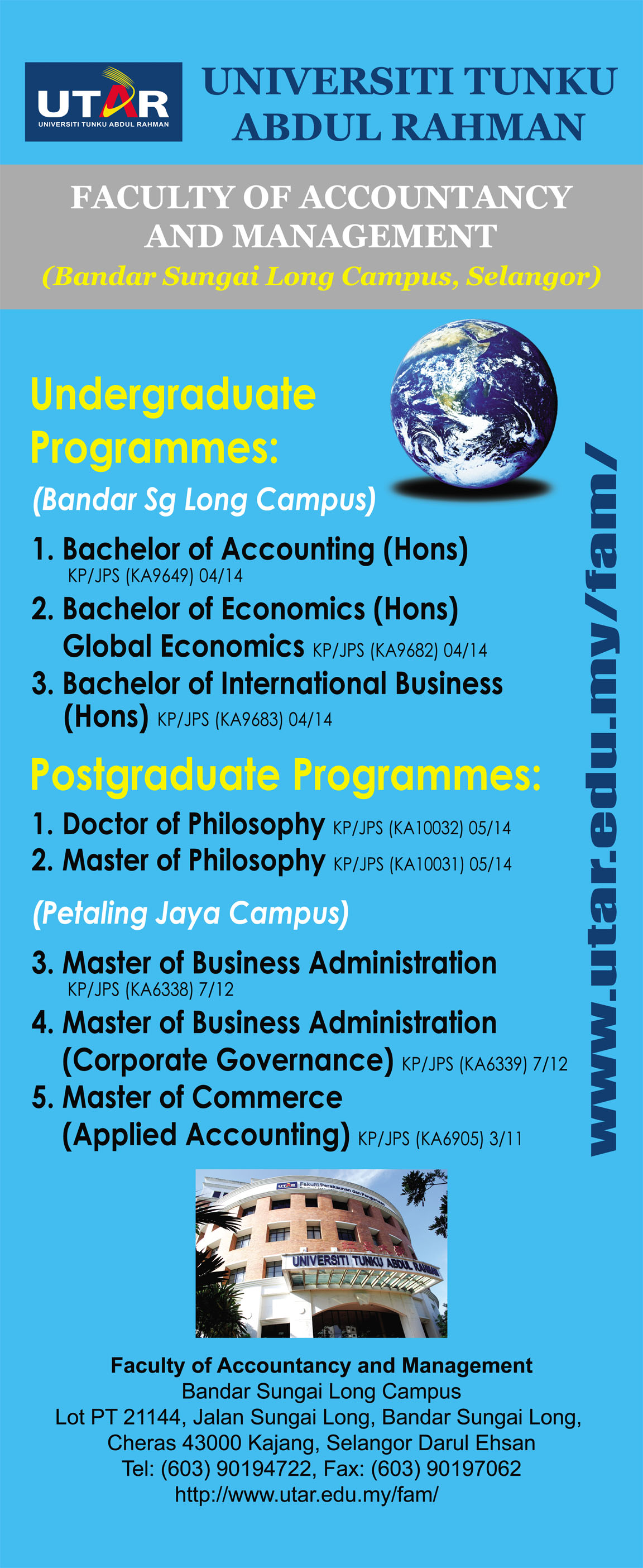 Images of utar international business course structure