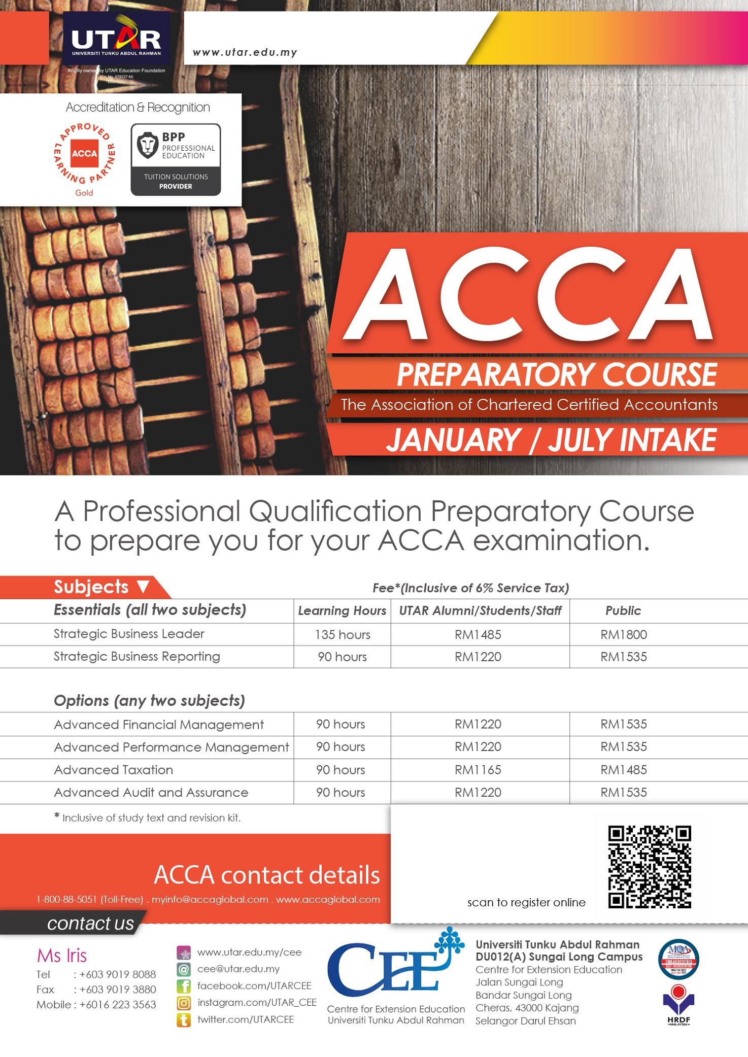 ACCA Preparatory Course